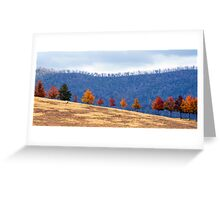 Autumn Parade Greeting Card