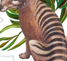 ICON - Thylacine by tasmanianartist Sticker