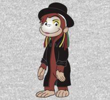 Curious Boy George One Piece - Long Sleeve