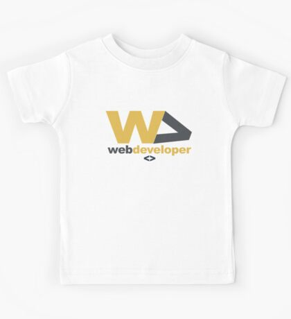 web developer Kids Tee