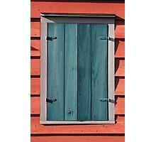 Barn Window Photographic Print