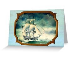 Sailing Time Greeting Card