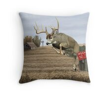 Off Limits Throw Pillow