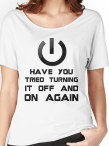Off and on again Women's Relaxed Fit T-Shirt