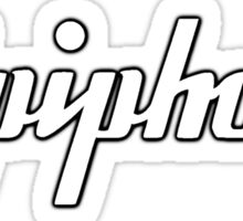 Epiphone White Sticker