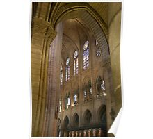 Gothic Arches and Windows Poster