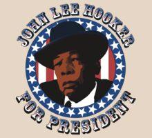 John Lee Hooker for President by mockingbird23