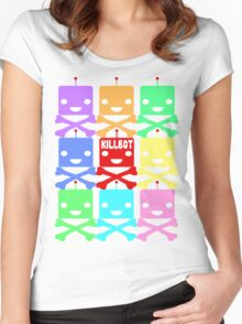 Killbots Women's Fitted Scoop T-Shirt