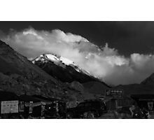 Tourist Base Camp and the Highest post office in the World Photographic Print