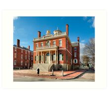 Salem Custom House - Historic New England Art Print
