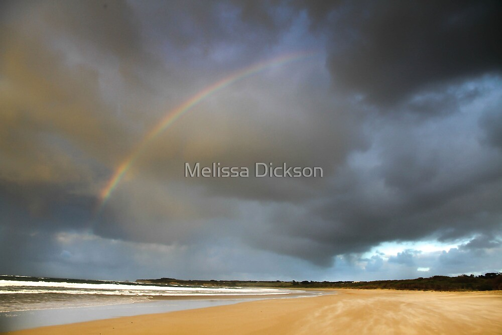 The Heavens open by Melissa Dickson