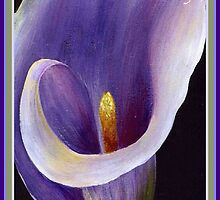 Happy Mother's Day - Abstract Calla by taiche