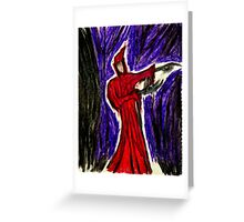 """This Way......"" Greeting Card"