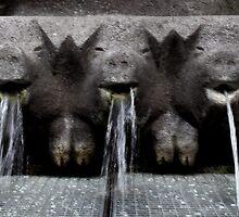 Schwein Brunnen  by Sarah N. Hood