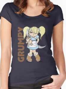 Grumpy Women's Fitted Scoop T-Shirt