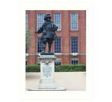 Kensington Palace Statue Art Print