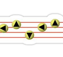 Ocarina Melodies - Song of Soaring Sticker