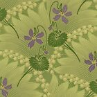 iPhone Case Nouveau Violets by Melanie  Dooley