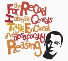 Sheldon - Genitals by cloz000
