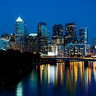 Philadelphia Skyline at Night by Eric Tsai