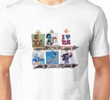 Kiwiana Smurfs  - I love New Zealand Unisex T-Shirt