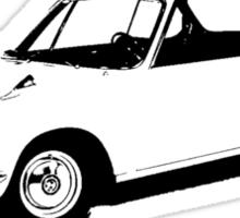 BMW 2000 CS 1965 Sticker