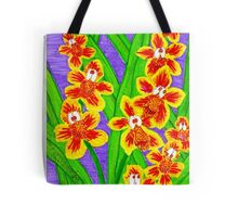 Kooky Orchids Tote Bag