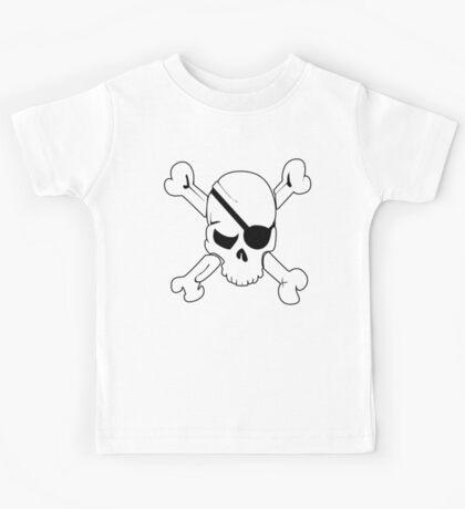 Pirate Flag Kids Tee