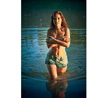 Morning at the lake 6 Photographic Print