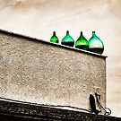 The rooftop at Antichi Sapori in Montegrosso by Rebecca Dru