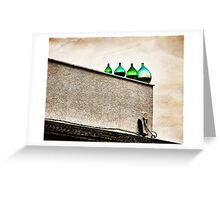 The rooftop at Antichi Sapori in Montegrosso Greeting Card