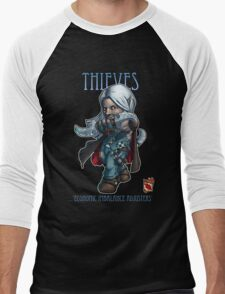 Tiny Fantasy Adventures: Thief Men's Baseball ¾ T-Shirt