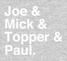 Joe & Mick & Topper & Paul Clash T-Shirt Kids Tee