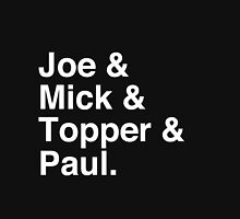 Joe & Mick & Topper & Paul Clash T-Shirt Unisex T-Shirt