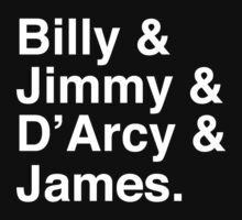Billy & Jimmy & D'Arcy & James Smashing Pumpkins T-Shirt Kids Tee