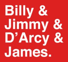 Billy & Jimmy & D'Arcy & James Smashing Pumpkins T-Shirt Kids Clothes