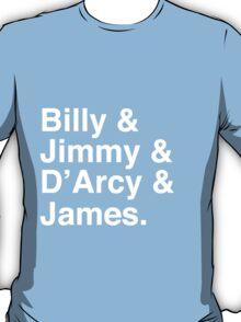 Billy & Jimmy & D'Arcy & James Smashing Pumpkins T-Shirt T-Shirt