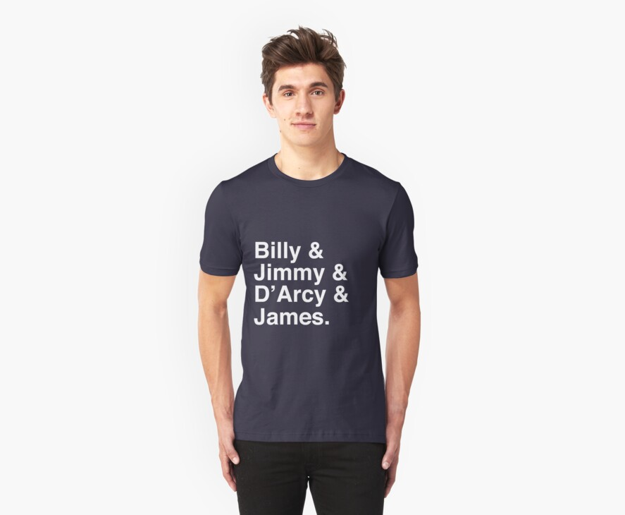 Billy & Jimmy & D'Arcy & James Smashing Pumpkins T-Shirt by tcn33