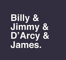 Billy & Jimmy & D'Arcy & James Smashing Pumpkins T-Shirt Unisex T-Shirt