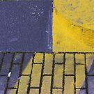diagonal yellow by fabio piretti