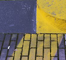 diagonal yellow by fabio piretti