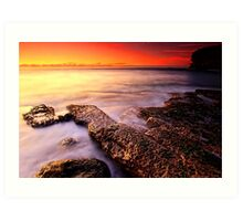 Malabar Sunrise Art Print