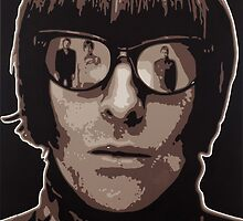 Liam Gallagher by blanccanvasart