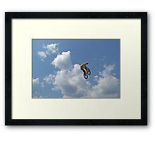 Look Back Framed Print