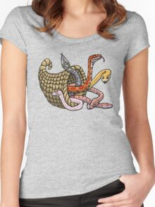 Corn-snake-copia Women's Fitted Scoop T-Shirt