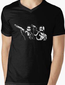 Bot fiction Mens V-Neck T-Shirt