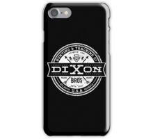 Dixon Bros. - White Version iPhone Case/Skin