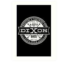 Dixon Bros. - White Version Art Print