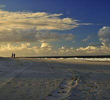 Just Strolling On Bribie Island by Terry Everson