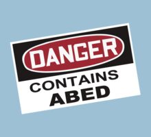 DANGER: Contains Abed Kids Tee